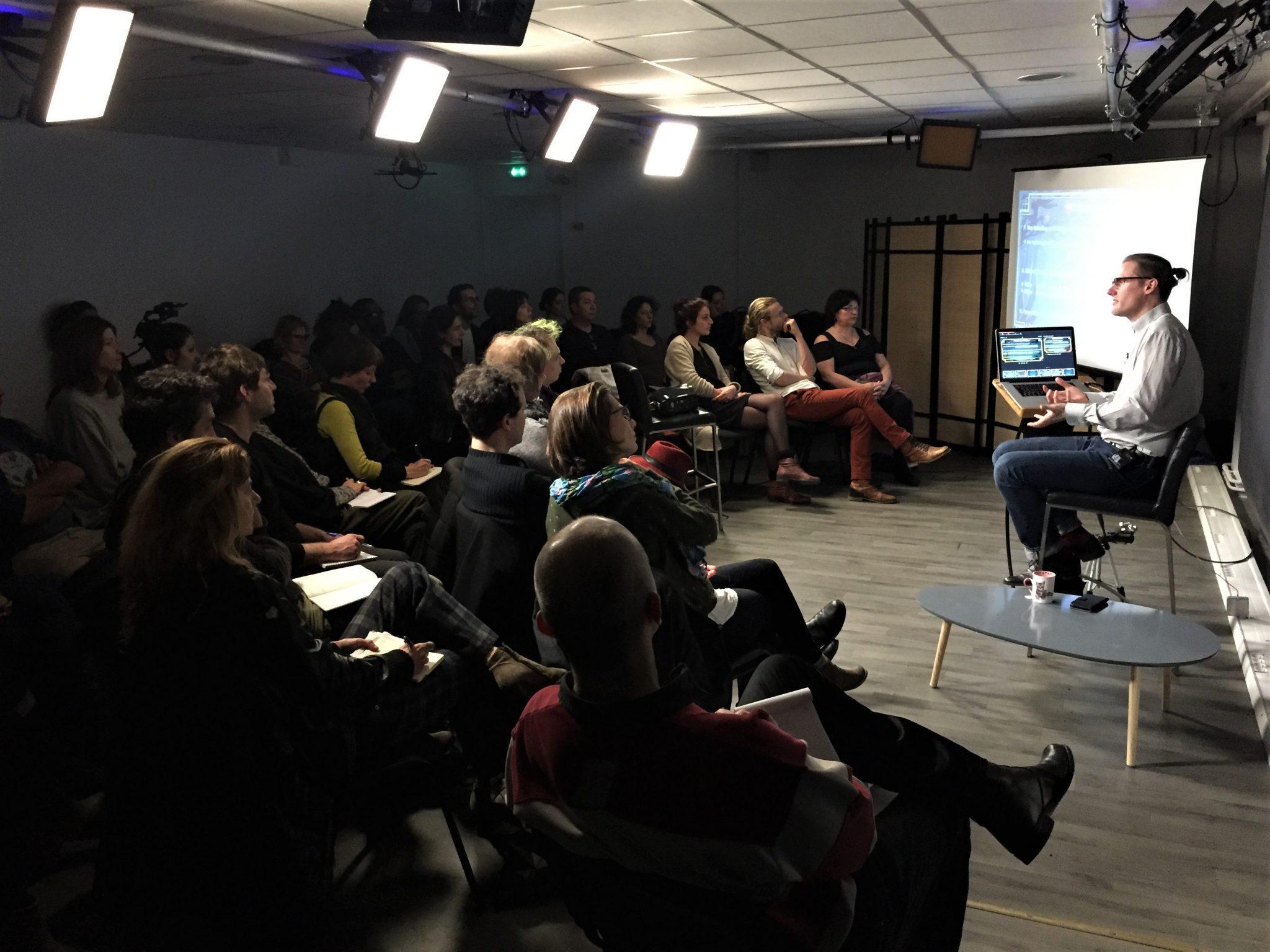 conférence hypnose en présentiel du centre de recherche Arche
