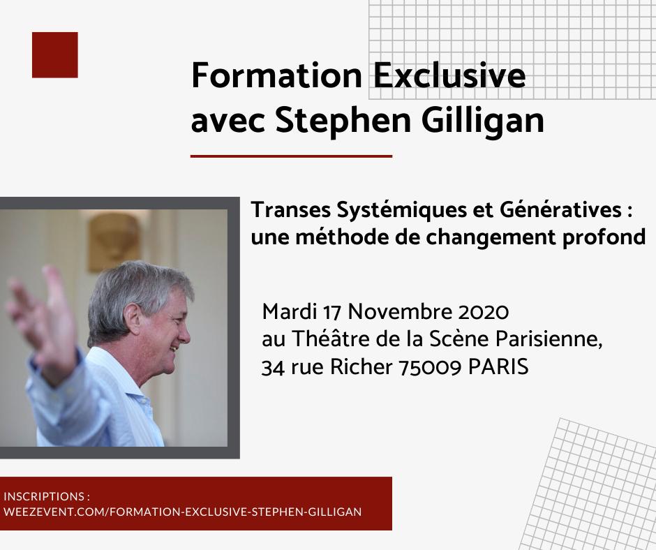 formation Stephen Gilligan