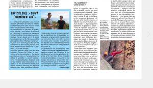 Article Corse Matin Brice Guyon praticien formé à l'ARCHE